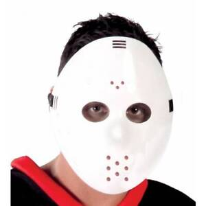 Blanc-Hockey-Masque-Jason-Vendredi-13th-Gardien-Deguisement-Halloween