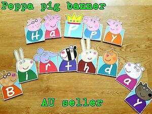 1-Set-PEPPA-PIG-BANNER-BUNTING-DIY-PEPPA-PIG-party-decorations