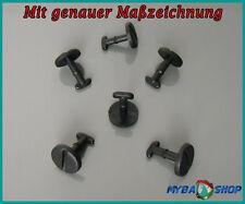 10x FUSSMATTEN CLIPS DREHVERSCHLUSS OHNE SPERRE (RING) SCHWARZ BMW E39 E46 E83