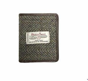 5798b9762651 Image is loading Glen-Appin-Neutral-Harris-Tweed-Card-Holder-Wallet