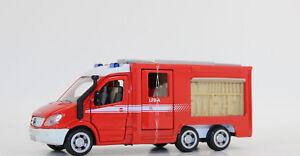 Siku-2113-Mercedes-Sprinter-bomberos-3-alineacion-1-50-nuevo-en-OVP