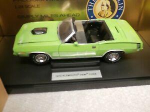 1970 PLYMOUTH HEMI CUDA CONVERTIBLE - LIMELIGHT GREEN ...