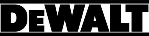 150mm 2x Dewalt Vinyl Graphics sticker Decals tool box drill battrey From 75mm