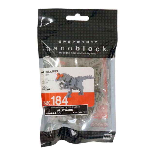 Kawada Nanoblock Allosaurus NBC_184