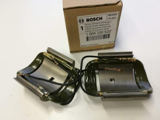 Bosch 160422052Z Polschuhbaugruppe 230V Rechange pour Gws 12-125 Gws 13-125 Ci