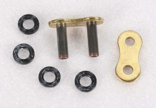 520ERV3-ZJ Rivet Connecting Link 520 ERV3 Series Chain Gold D.I.D