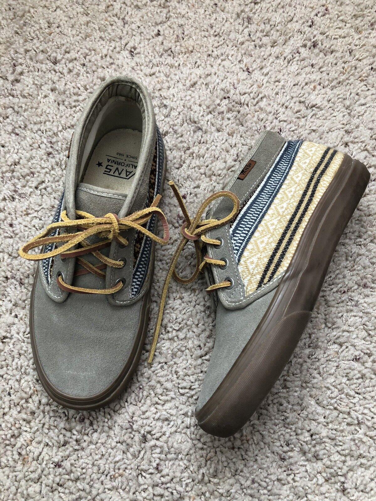 Vans California Chukka Boot 'Nordic' (Brindle) Suede Men 6.5 Women Size 8