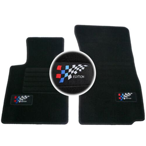 2 TAPIS SOL BMW Z4 E85 2003-2009 TOUS MODELES MOQUETTE LOGO EDITION M SUR MESURE