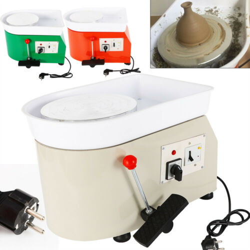 Removibile Electric Pottery Wheel Machine DIY Ceramica Tornio Per Bambini 350W