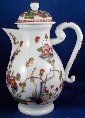 Very Rare 1725 Meissen Porcelain Kakiemon Indian Flowers Pot 18thC Small Coffee