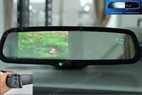 Auto Dimming Mirror+4.3lcd Display+compass+temp, Fits Ford,gm,toyota,nissan.etc