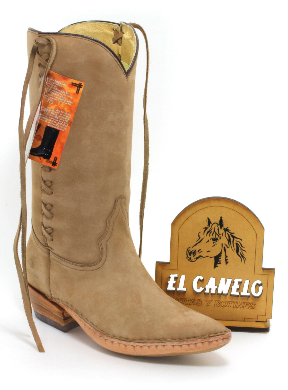 Bottes Bottes Bottes De Cowboy Western Bottes reitbottes Texas bottes catalan style El Canelo 37 241386