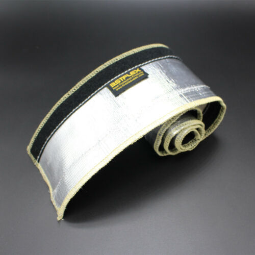 12mm~75mm Heat Shield Shroud Aluminized Line Sleeving THERMO SLEEVE EXPRESS L