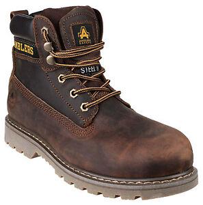Amblers-FS164-Puntera-de-Seguridad-Acero-para-Hombre-Industrial-Botas-Zapatos-Ru