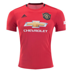 adidas-Men-039-s-Manchester-United-19-20-Home-Jersey-Real-Red-ED7386