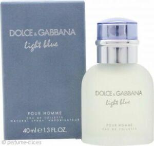 40ml-Dolce-amp-Gabbana-Light-Blue-Eau-de-toilette-for-Men-Descatalogado-1-3-oz