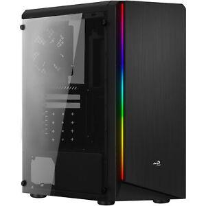 Aerocool-RIFT-RIFT-Midi-Tower-Negro-carcasa-de-ordenador