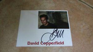 David Copperfield originalsigniertes Foto!