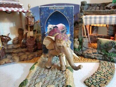 Fontanini Elephant with Saddle Blanket Italian Nativity Village Figurine