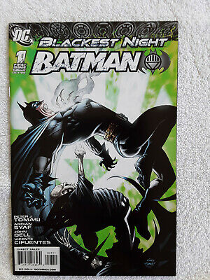 Blackest Night Batman #2A Kubert Variant VF 2009 Stock Image