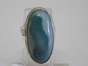 Anillo-Agata-verde-y-plata-925-GREEN-AGATE-925-STERLING-SILVER-RING