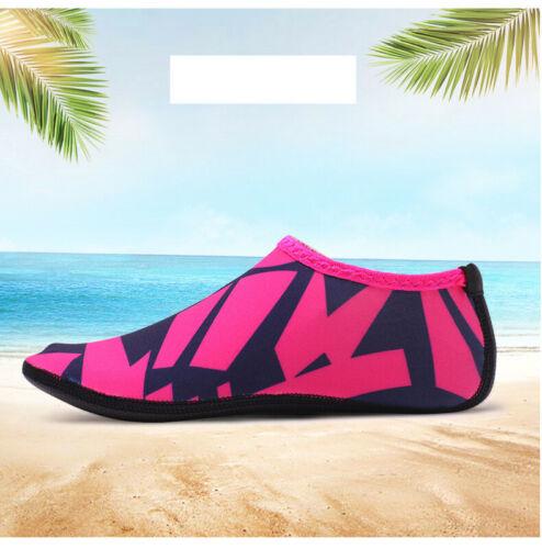 UK Kids Mens Womens Aqua Socks Pool Yoga Beach Swim Diving Shoes Non Slip Size