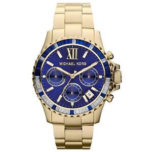 ab3d7d069f33 Michael Kors Mid-Size Everest Chronograph Glitz MK5754 Wrist Watch for Women