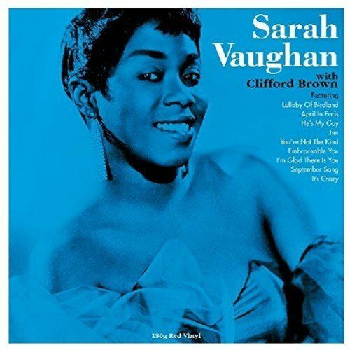 Sarah Vaughan with Clifford Brown LP Red Vinyl 180g Record Lullaby Of Birdland