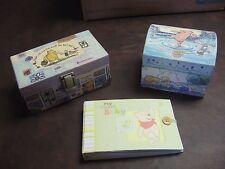 Winnie the Pooh Lot Disney Baby Book Cute Box Jewelry Mirror Milne tri coastal
