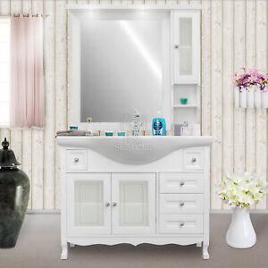 Details zu Badezimmer Badmöbel Komplettes Badezimmer im Stil shabby chic