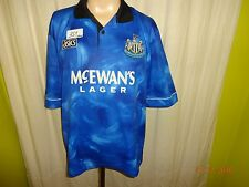 "Newcastle United asics Auswärts Trikot 1993-1995 ""McEWAN´S LAGER"" + Nr.3 Gr.XL"