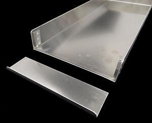 2x-Kitchen-Panel-Cake-Tin-Sheet-60x20-CM-schnittkuchenbleche-UNOX-Wiesheu-NEW