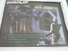 Robocop Ed-209 import figure box Framed The future of law enforcement #2