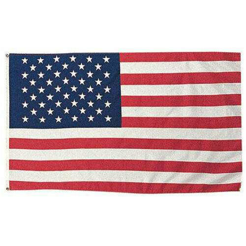 U.S 3 x 5 MADE IN THE USA WITH BRASS GROMMETS AMERICAN FLAG