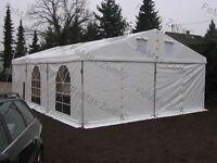 Festzelt Partyzelt Vereinszelt 6x9m // 2x Sprossenfenster // 4x Giebellüftung