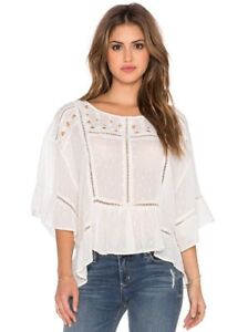 24059105ae2 Image is loading NWT-Free-People-Beautiful-Dreamer-Top-Blouse-Shirt-