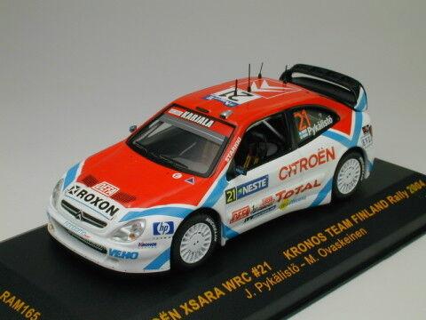 IXO 1 43 Citreon Xsara WRC Finlandia Rally 2004  21 de Japón