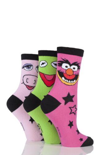 3 Paio SockShop Donna Muppets Calze