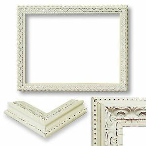 image is loading shabby chic picture photo frame distressed cream vintage chic shabby french style distressed