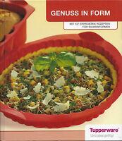 """""""Genuss in Form"""" Tupperware-Buch – 137 erprobte Rezepte für Silikonformen – E34"""