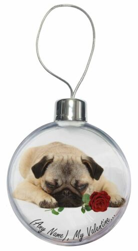 VAD-P92RCB Christmas Tree Bauble Decoration Gift Personalised Any Name