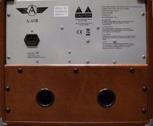Akustik-Verstärker neues Modell 2018 *NEU* GEWA Akustik-Combo ZAR A-40R