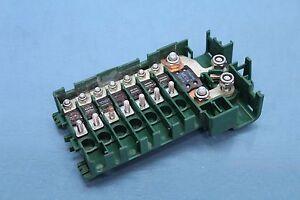 2001 bmw 740il e38 rear trunk battery junction wire fuse ... 1999 bmw 740il fuse box