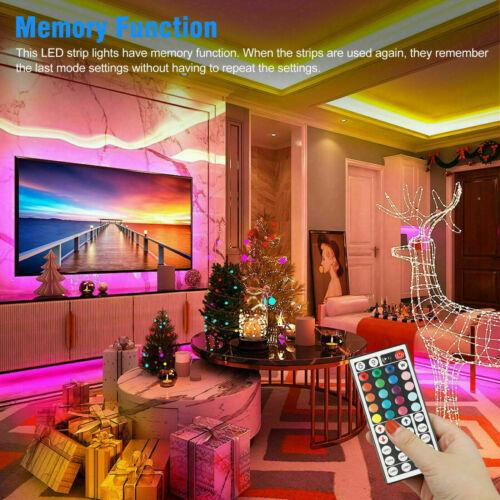 Tira De Luces 300 LEDs 5M RGB Color Tiras Led Para Decoracion Habitacion Cuarto