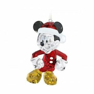 image is loading swarovski disney 5004690 mickey mouse christmas ornament bnib - Mickey Mouse Christmas Ornaments
