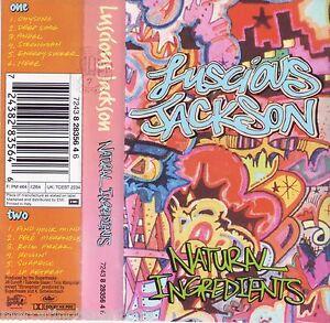 LUSCIOUS-JACKSON-Natural-Ingredients-1994-MC-TAPE-ORIGINALE-USATA-PERFETTA