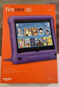 Amazon Fire HD 8 (10th Generation) Kids Edition 32GB, Wi-Fi,8in PURPLE BRAND NEW