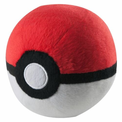 "Tomy PLUSH 5/"" Pokeball SOFT TOYS Official Pokemon Poke Nest Master Dusk Boules"