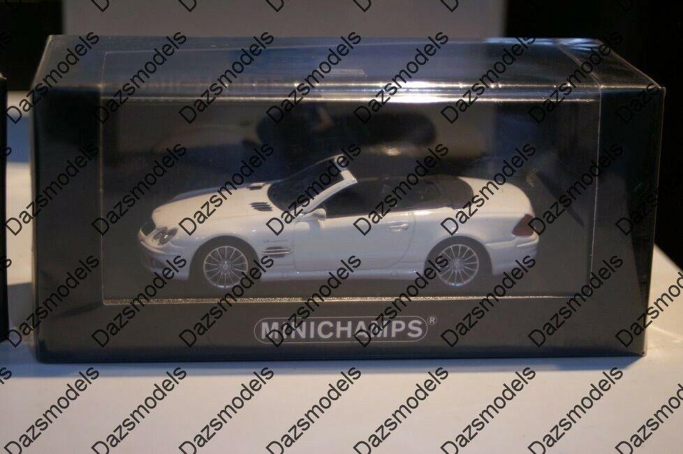 merce di alta qualità e servizio conveniente e onesto Minichamps Mercedes Benz SL 55 2007 Bianco 400 036170 036170 036170  tempo libero