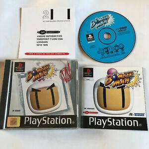 BOMBERMAN-KOMPLETT-Black-Label-Playstation-1-ps1-ps2-ps3-PAL
